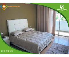 Location d'un très joli appartement meublé au Perstigia RABAT