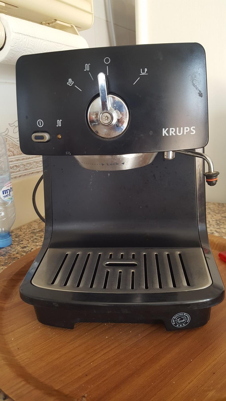 recherche cafetiere KRUPS XP 4000