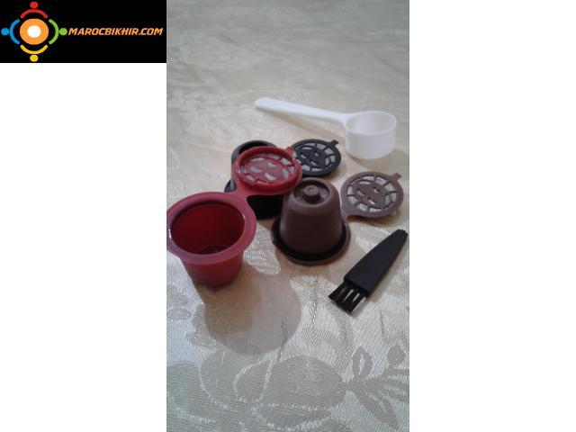 Capsules Nespresso rechargable