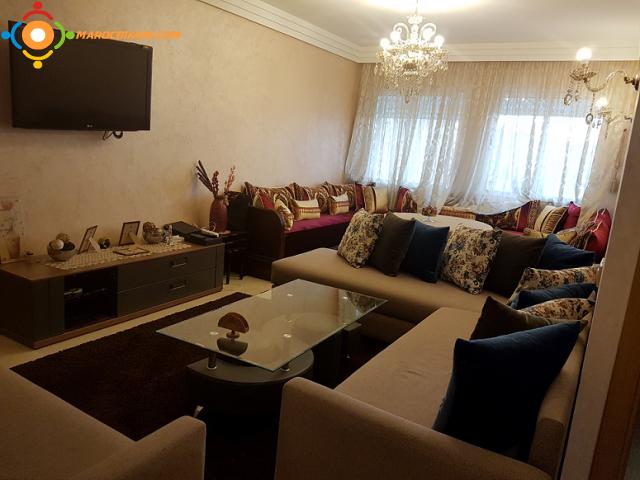 Appartement Vide de 84 m2 à Belvédère Casablanca