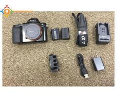 Sony A7S Mirrorless caméra 12MP