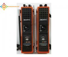 talki walkie sony icb 300w
