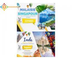 voyages organisés à Singapour et en Malaisie