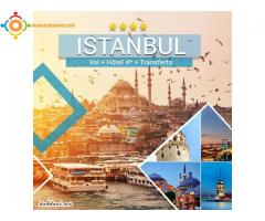 PACK ISTANBUL 4* STANDARD - VIA TURKISH AIRLINES