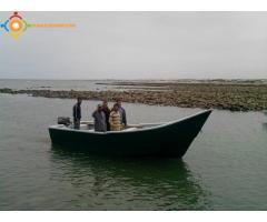 Barque pêche côtière artisanale