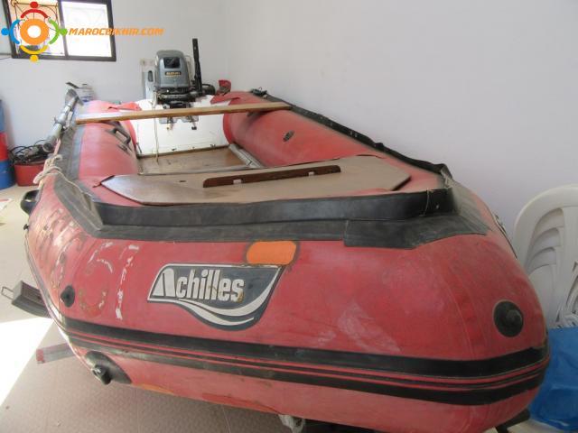 vends bateau gonflable 4,20 M